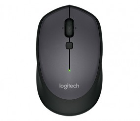 Logitech M335 Kabellose Maus, schwarz