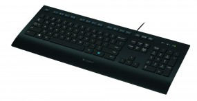 Logitech K280e Corded Keyboard for Business