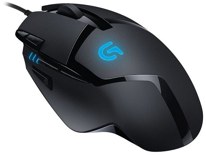 Logitech G402 Hyperion Fury FPS Gaming-Maus