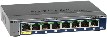 8 Port Gigabit Smart Managed Switch