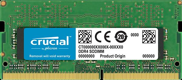 RAM SO-DIMM DDR4 8GB/PC2400 /UB/ Crucial / Single