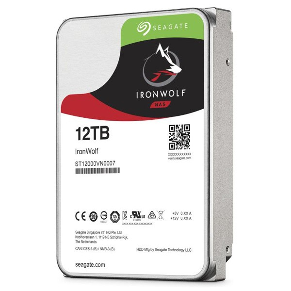 Seagate IronWolf NAS HDD 12TB