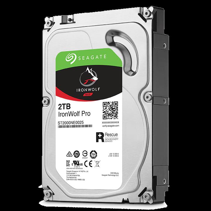 Seagate IronWolf Pro NAS HDD 2TB