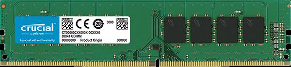 DDR4-2400 8GB Crucial Dual Ram