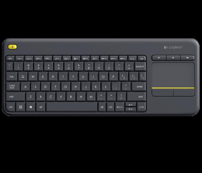 TAS Logi WL Touch Tastatur K400 Plus