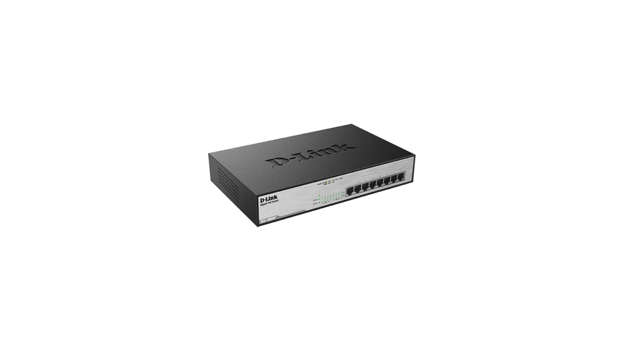 D-Link DGS-1008 8-Port Max PoE