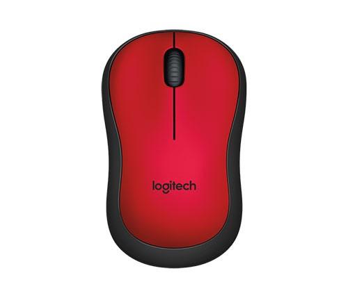 Logitech M220 Silent, rot