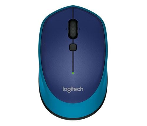 Logitech M335 Kabellose Maus, blau