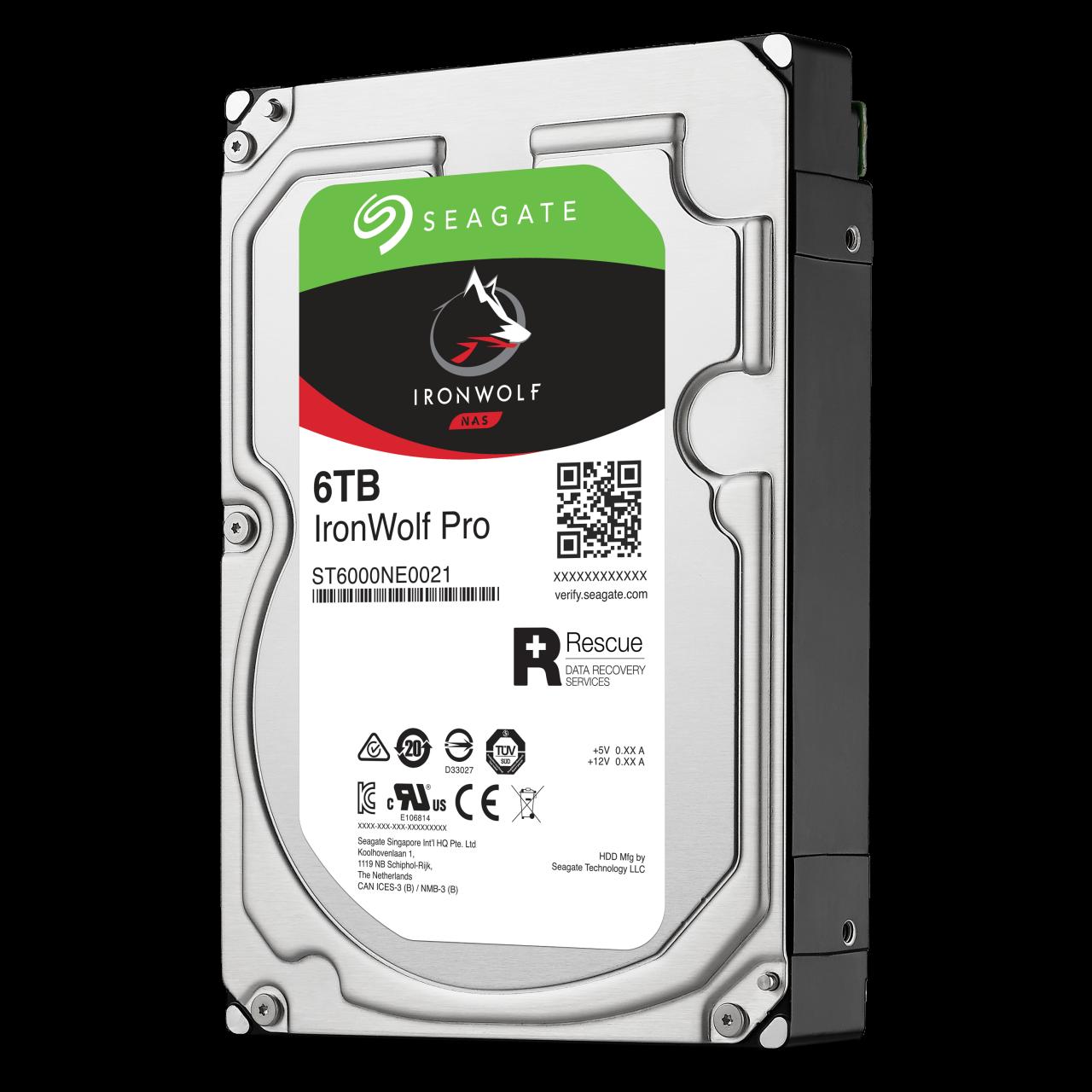 Seagate IronWolf Pro NAS HDD 6TB