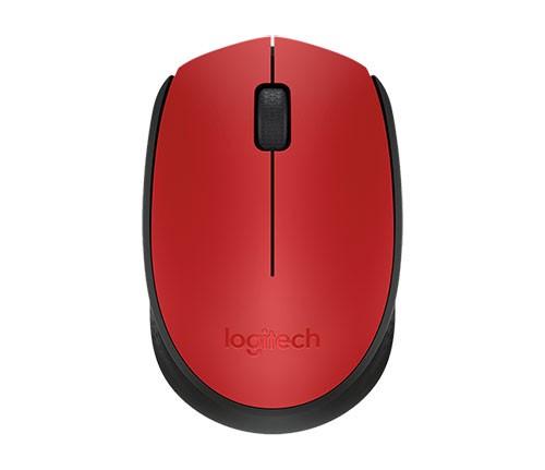 Logitech M171 Kabellose Maus, rot-schwarz