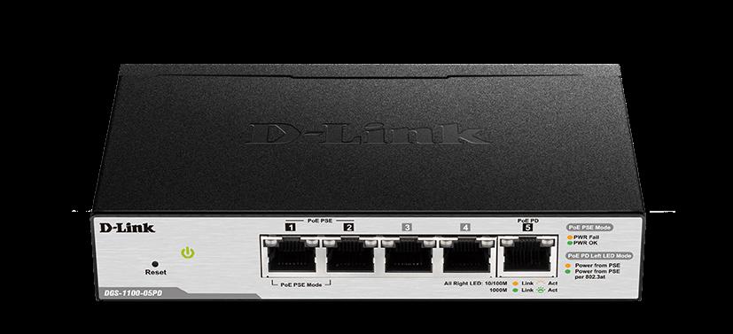D-Link DGS-1100 5-Port PoE