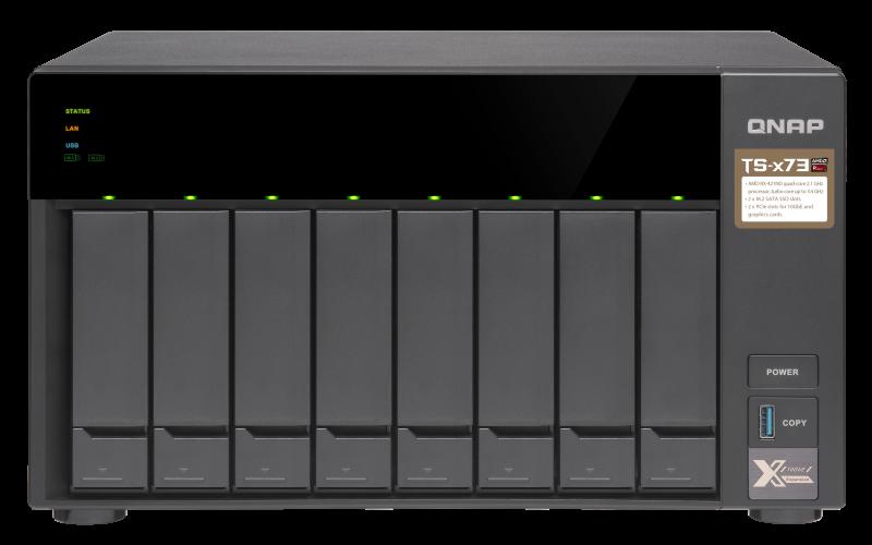 High-End AMD RX-421ND Quad-Core NAS