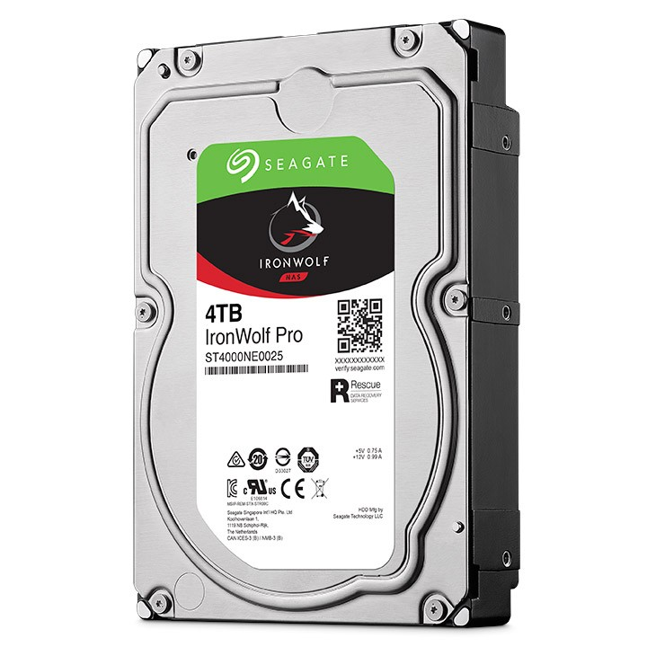 Seagate IronWolf Pro NAS HDD 4TB