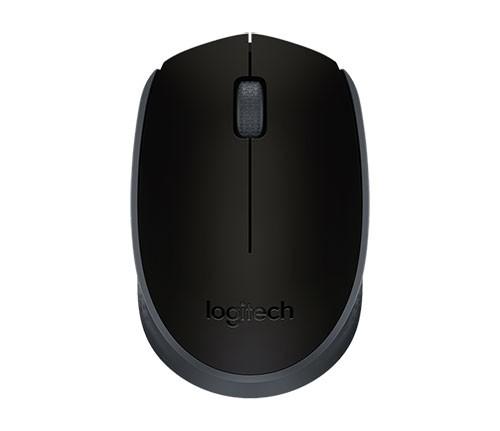 Logitech M171 Kabellose Maus, schwarz-schwarz