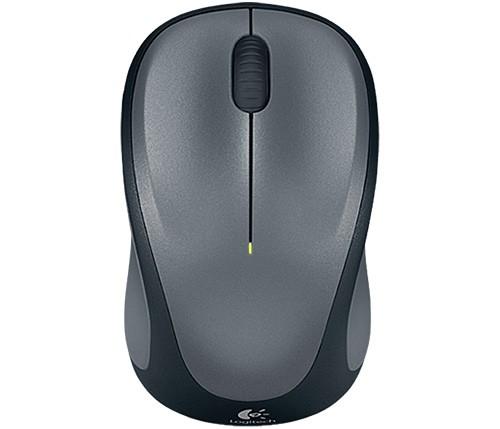 Logitech Wireless Mouse M235, silber