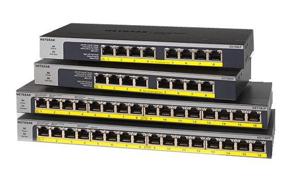 NetGear GS116GE 16-P Gigabit