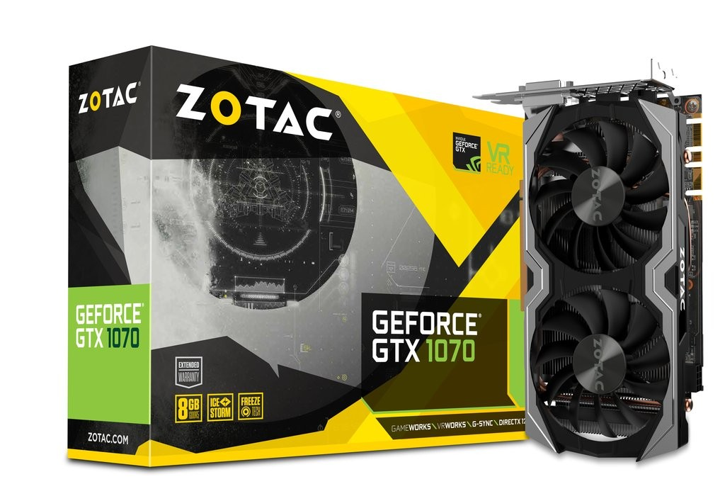 ZOTAC GeForce GTX 1070 Mini Grafikkarte